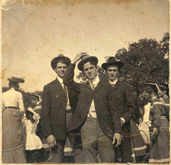 Austin Presbyterian Seminary's first students circa 1903