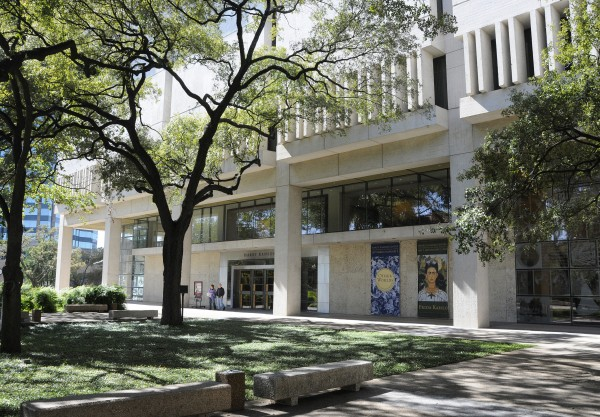 The Harry Ransom Center on the University of Texas campus.