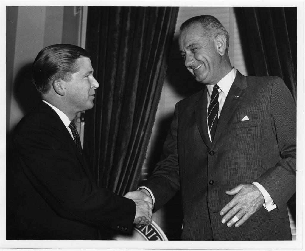 John G. Tower and Lyndon B. Johnson, 1960s