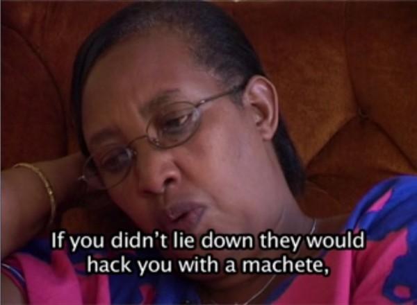 Screenshot from Oral History Testimony of MUREBWAYIRE Josephine, Genocide Archive of Rwanda